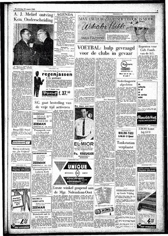 Rotterdamsch Parool / De Schiedammer 1961-03-30