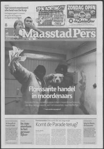 Maaspost / Maasstad / Maasstad Pers 2010-07-28