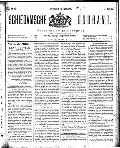 Schiedamsche Courant 1885-03-06