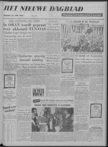 Nieuwe Schiedamsche Courant 1962-06-22