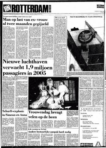 Rotterdamsch Nieuwsblad / Schiedamsche Courant / Rotterdams Dagblad / Waterweg / Algemeen Dagblad 1991-03-09