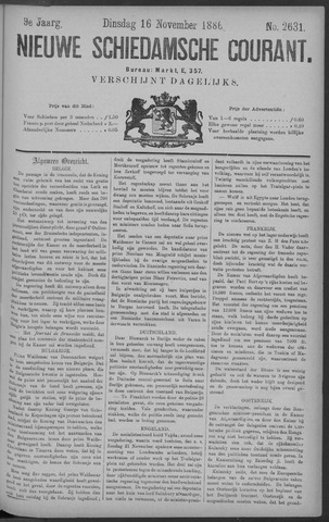 Nieuwe Schiedamsche Courant 1886-11-16