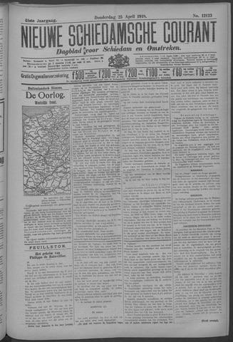 Nieuwe Schiedamsche Courant 1918-04-25