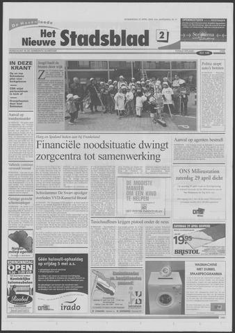 Het Nieuwe Stadsblad 2000-04-27