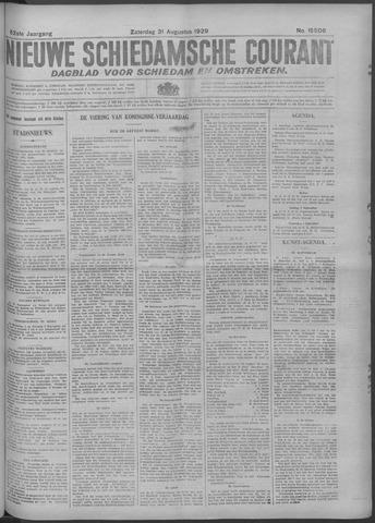 Nieuwe Schiedamsche Courant 1929-08-31
