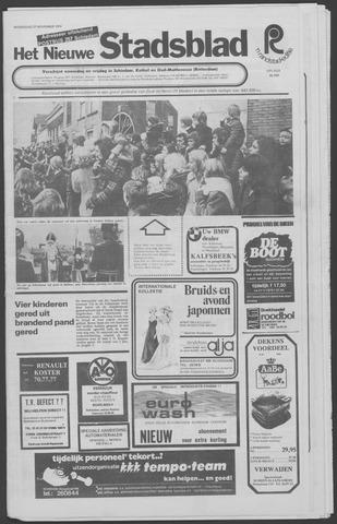 Het Nieuwe Stadsblad 1974-11-27