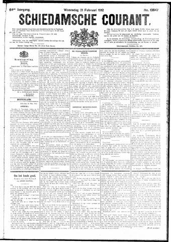 Schiedamsche Courant 1912-02-21