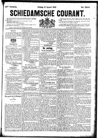 Schiedamsche Courant 1916-01-21