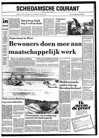 Rotterdamsch Nieuwsblad / Schiedamsche Courant / Rotterdams Dagblad / Waterweg / Algemeen Dagblad 1980-09-30