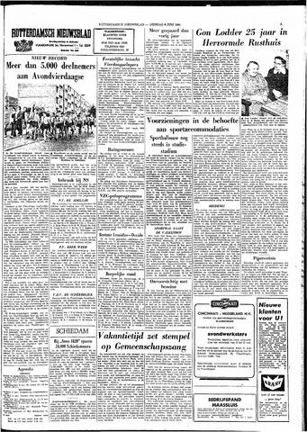 Rotterdamsch Nieuwsblad / Schiedamsche Courant / Rotterdams Dagblad / Waterweg / Algemeen Dagblad 1964-06-09