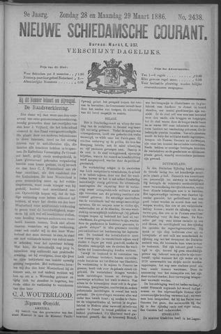 Nieuwe Schiedamsche Courant 1886-03-29