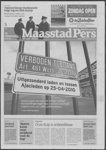 Maaspost / Maasstad / Maasstad Pers 2010-04-14