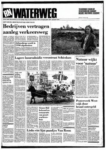 Rotterdamsch Nieuwsblad / Schiedamsche Courant / Rotterdams Dagblad / Waterweg / Algemeen Dagblad 1987-06-16