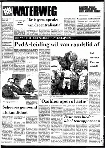 Rotterdamsch Nieuwsblad / Schiedamsche Courant / Rotterdams Dagblad / Waterweg / Algemeen Dagblad 1983-05-31
