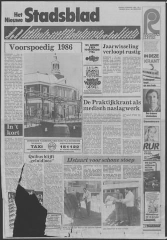 Het Nieuwe Stadsblad 1986