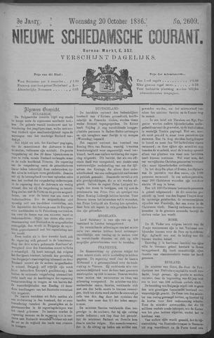 Nieuwe Schiedamsche Courant 1886-10-20