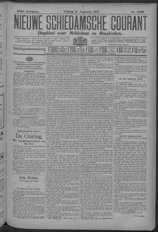 Nieuwe Schiedamsche Courant 1917-08-31