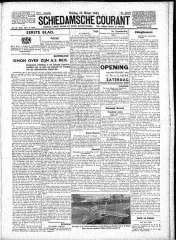 Schiedamsche Courant 1935-03-22