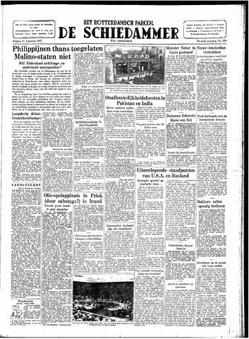 Rotterdamsch Parool / De Schiedammer 1947-08-15