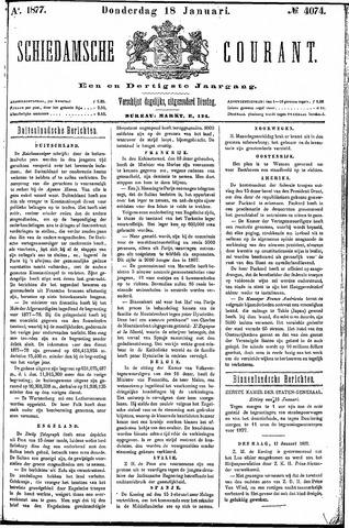 Schiedamsche Courant 1877-01-18