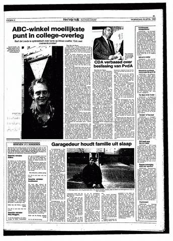 Het Vrije volk 1990-04-18