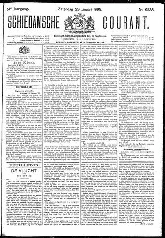 Schiedamsche Courant 1898-01-29
