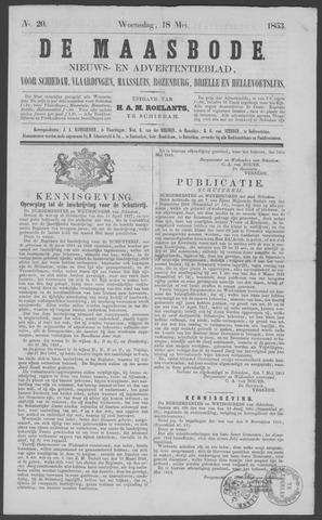 De Maasbode 1853-05-18