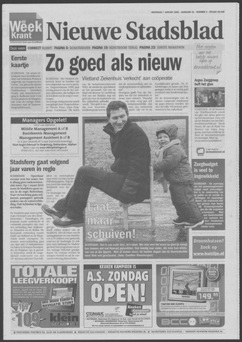 Het Nieuwe Stadsblad 2009