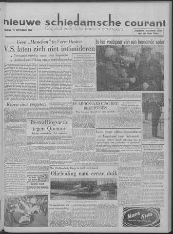 Nieuwe Schiedamsche Courant 1958-09-12