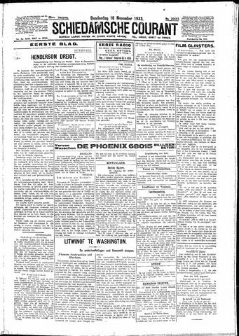 Schiedamsche Courant 1933-11-16