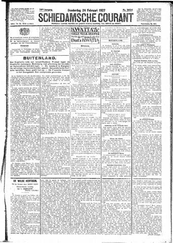 Schiedamsche Courant 1927-02-24