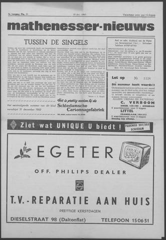 Mathenesser Nieuws 1963-12-19