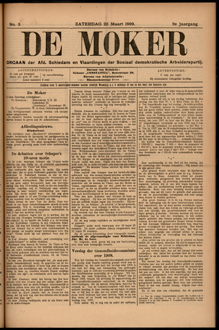 De Moker 1909-03-20