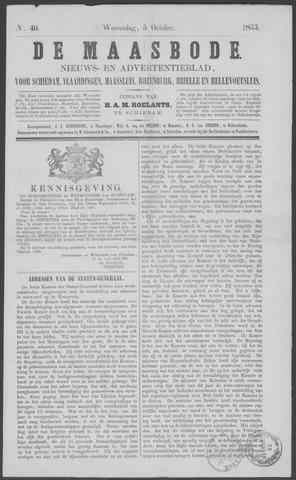 De Maasbode 1853-10-05