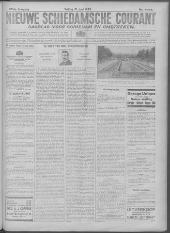 Nieuwe Schiedamsche Courant 1929-06-21