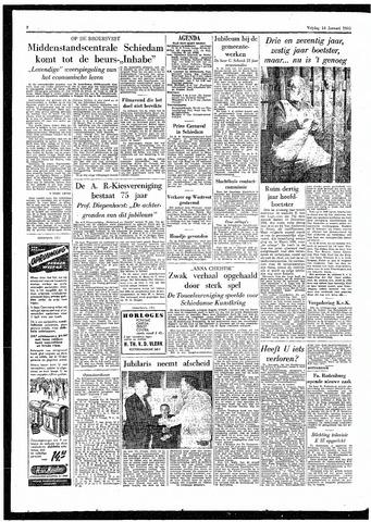 Rotterdamsch Parool / De Schiedammer 1955-01-14