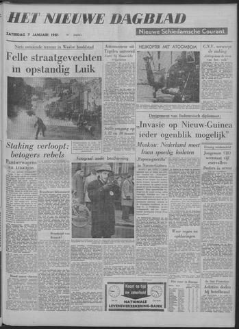 Nieuwe Schiedamsche Courant 1961-01-07