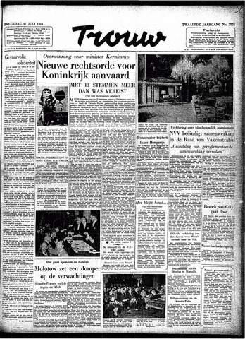 Trouw / De Rotterdammer 1954-07-17