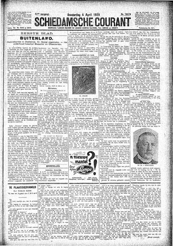 Schiedamsche Courant 1929-04-04
