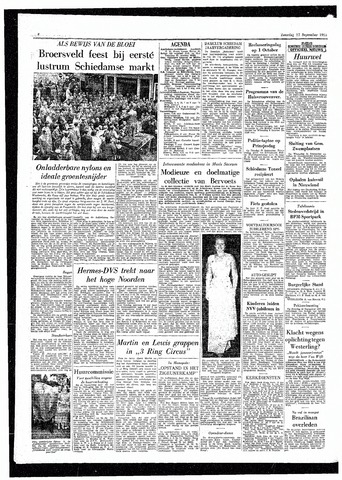 Rotterdamsch Parool / De Schiedammer 1955-09-17