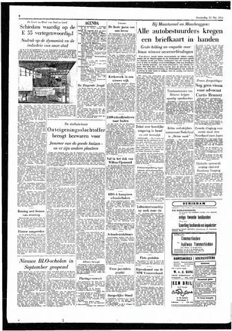 Rotterdamsch Parool / De Schiedammer 1955-05-12