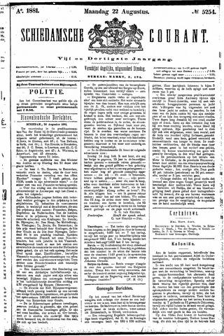 Schiedamsche Courant 1881-08-22