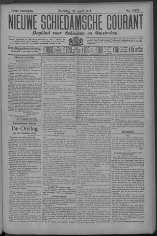 Nieuwe Schiedamsche Courant 1917-04-28