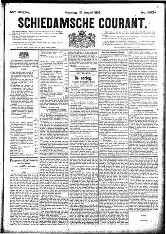 Schiedamsche Courant 1916-01-10