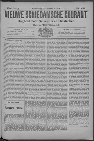 Nieuwe Schiedamsche Courant 1897-02-24
