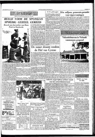 Rotterdamsch Nieuwsblad / Schiedamsche Courant / Rotterdams Dagblad / Waterweg / Algemeen Dagblad 1959-07-22