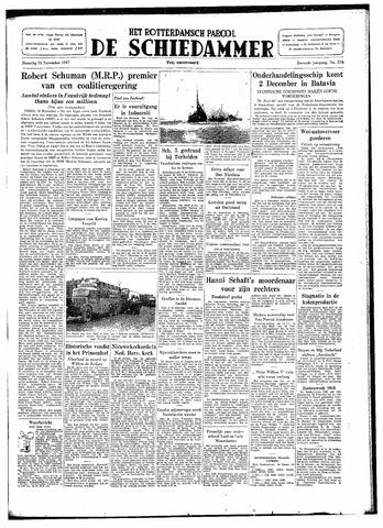 Rotterdamsch Parool / De Schiedammer 1947-11-24