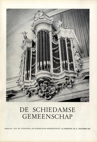 Schiedamse Gemeenschap (tijdschrift) 1952-12-01