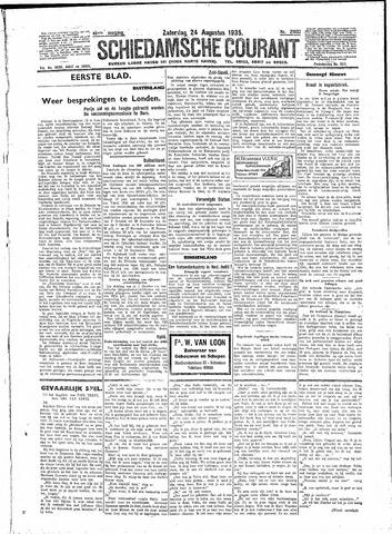 Schiedamsche Courant 1935-08-24