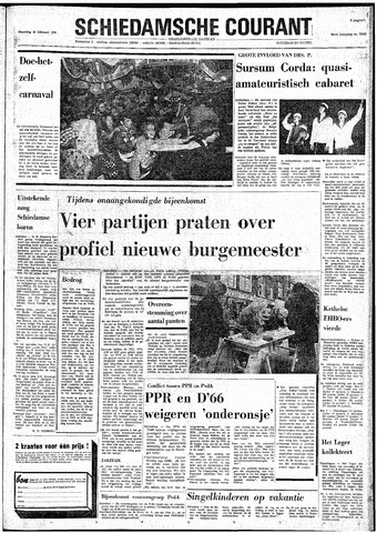 Rotterdamsch Nieuwsblad / Schiedamsche Courant / Rotterdams Dagblad / Waterweg / Algemeen Dagblad 1974-02-25